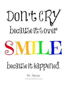 #Smile Dr. Seuss #Quote - Sponsored by #FABsmile at B-inspiredMama.com