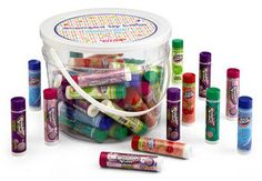 Candy Flavored Lip Balm