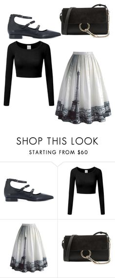"""""""Untitled #1110"""" by zeniboo ❤ liked on Polyvore featuring P.A.R.O.S.H., Chicwish and Chloé"""