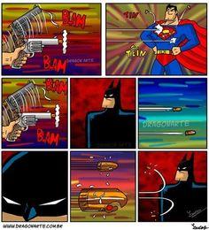 Because it's Batman