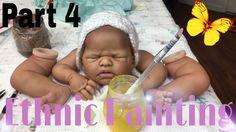 Ethnic Painting Series: Part 1 Diy Reborn Dolls, Bb Reborn, Silicone Reborn Babies, Diy Doll, Baby Painting, Doll Painting, Victorian Dollhouse, Modern Dollhouse, Baby Mold