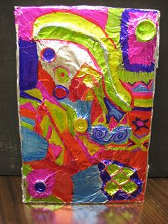 Use when teaching abstract art