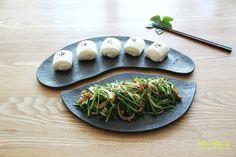 Jun Recipe, Pork Dishes, Korean Food, Lunch, Restaurant, Cooking, Tableware, Ethnic Recipes, Foods