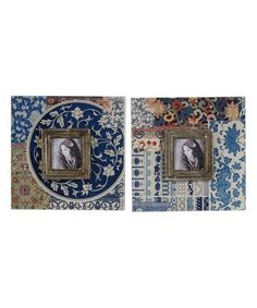 Look what I found on #zulily! Azul Frame - Set of Two #zulilyfinds