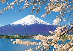 While Shintoism may have had a permeating role in the past in Japan, in recent times it has slipped into the background. Monte Fuji, Beautiful Places To Visit, Beautiful World, Places To See, Nature Images, Nature Pictures, Mount Fuji Japan, Japanese Art Prints, Cherry Blossom Japan