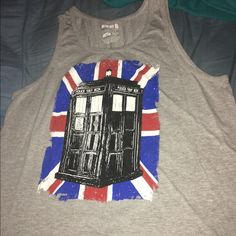 Dr. Who tank Never worn Tops Tank Tops