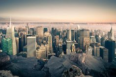 What if Manhattan was located in the Grand Canyon? Photo by Gus Petro
