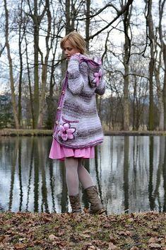 beautiful crochet sweater