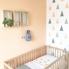 Peach and stonegreen Nursery