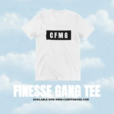 Camp Finesse x StreetWear Tee Now Available ⛺| Camp Finesse Music Group