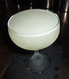 White Dahlia | Cocktail Virgin: La Puritita Mezcal, Combier Creme de Pamplemousse Rose, Cocchi Americano, Lime juice, Angostura Bitters