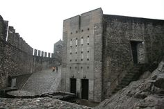 Castelgrande Bellinzona CH Aurelio Galfetti Architect