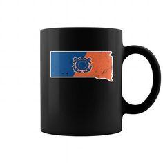 South Dakota Coast Guard Anchor  Coast Guard Gifts => Check out this shirt or mug by clicking the image, have fun :) Please tag, repin & share with your friends who would love it. #CoastGuardmug, #CoastGuardquotes #CoastGuard #hoodie #ideas #image #photo #shirt #tshirt #sweatshirt #tee #gift #perfectgift
