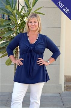 Plus sized - Casual Tunic Top