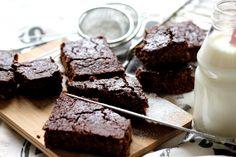 Květákové brownies Brownies, Good Food, Low Carb, Gluten Free, Cooking, Fitness, Cake Brownies, Glutenfree, Kitchen