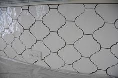 arabesque tile with dark grout - Google Search