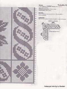 FEITOS POR MIM BY LU RONTANI: Tapete flor em crochê com gráfico para quarto ou sala