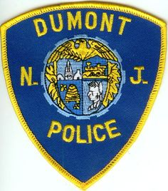 Dumont, NJ PD Patch Police Badges, Sister Cities, Law Enforcement Officer, Police Patches, Military Police, Porsche Logo, Ems, Flags, Fire