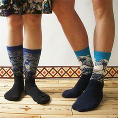 Οι αγαπημένοι μας πίνακες γίνονται κάλτσες.
