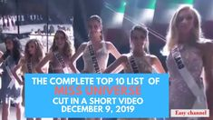 Miss universe top 10 announcement cut video Announcement, Mario, Channel, Universe, Youtube, Top, Outer Space, The Universe, Youtubers