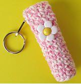 Chapstick / Lip Balm Holder Crochet Free Pattern