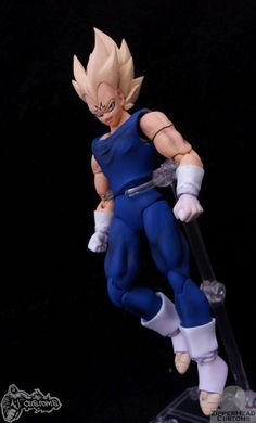 a8e72e4c566 S.H. Figuarts Majin Vegeta V01 (Dragonball Z) Custom Action Figure   SonGokuKakarot Dragon Ball