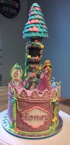 Gâteau d'anniversaire Raiponce