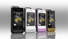 Yellow Jacket Stun Gun Case for iPhone 4 & 4S, iPhone 5 version will be released 1Q 2013