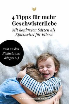 """""""Du bist jetzt so richtig sauer, oder?"""" 4 Tipps zum Umgang mit GeschwisterrivalitätThanks for this post.How we can allow negative feelings. And thus promote sibling love and no longer fuel sibling rivalry. How we show our c# arent Parenting Teens, Parenting Humor, Parenting Advice, Baby Co, Mom And Baby, Baby Tips, Sibling Rivalry, Les Sentiments, Montessori Baby"""