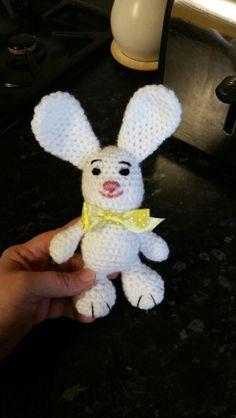 My first crochet rabbit