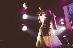 Melanie performing in London