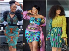 20 Photos – Ankara Short Gown Styles Pictures (Latest Fashion Styles 2020) Aso Ebi Lace Styles, Ankara Short Gown Styles, Latest Aso Ebi Styles, Short Gowns, Modern African Clothing, African Fashion Dresses, African Dress, Ankara Skirt And Blouse, Fashion Stylist