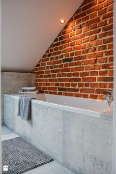 łazienka Na Poddaszu Attic Bathroom