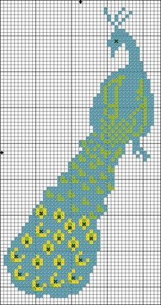 Free Online Cross Stitch Patterns | The design is in a single color...but you could modify it to ...