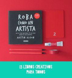 La Lilú: 13 Creative Books For Everyone. creativity, create, bookworm, inspiration, bookish, book recommendation.