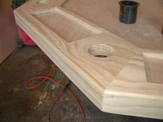 How to Build a Poker Table - Step by Step Instructions Poker Table Diy, Poker Table Plans, Desk Plans, Popular Woodworking, Woodworking Plans, Woodworking Projects, Woodworking Classes, Woodworking Shop, Woodworking Videos