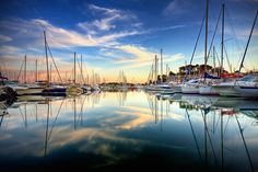 Port in Bandol, south of France by Alex Teuscher, via Flickr
