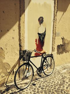 Fado da Severa - Wall Art   #fado #severa #bikeawish #rental #lisbon #martimmoniz