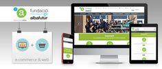 Tienda online para Associació Alba. Ecommerce + web corporativa + blog, realizado con la plataforma Ebasnet (www.ebasnet.com)