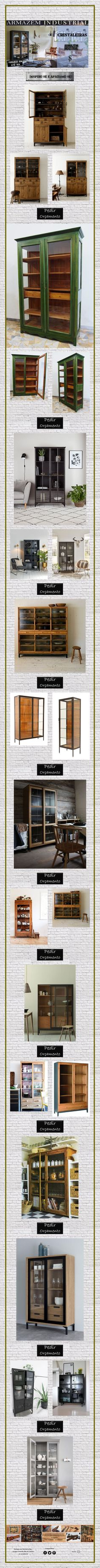 Cristaleiras para se Inspirar! Bookcase, Shelves, Home Decor, Bed Sets, Houses, Shelving, Decoration Home, Room Decor, Shelf