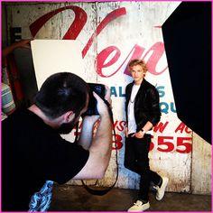 Cody Simpson Pastry Photo Shoot