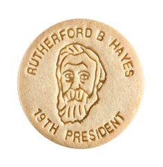 Dick & Jane Educational Snacks;  Presidential Edition;  Rutherford Birchard Hayes,   19th President,   1877-1881
