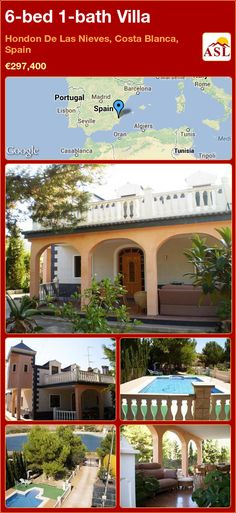 Villa for Sale in Hondon De Las Nieves, Costa Blanca, Spain with 6 bedrooms, 1 bathroom - A Spanish Life Grilled Meat, Alicante, Seville, Private Pool, Lisbon, The Locals, Spanish, Bedrooms, Bath