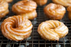 homemade french crullers...