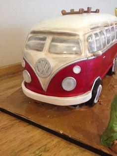 Vw Camper Van Cake - CakeCentral.com