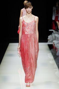 Giorgio Armani коллекция | Коллекции весна-лето 2016 | Милан | VOGUE