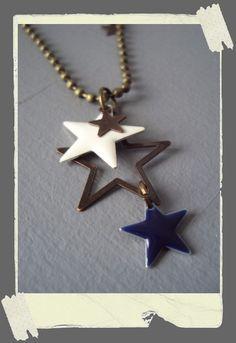 Sautoir *I'm a Star addict...* - Boutique www.poudredetoiles.com