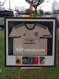 Now you can visit our store with prior appointment or you can place e-order.  Our Framing service is open for framing your Favourite Jersey or T-shirt. Your ideas are matter to us and we will execute it accordingly. We have the state-of-the-art Mat cutting machine by that you can customize the border as well. We also do metal plate printing to show the details of the Framing. Stay Safe! Go Digital!  SGFrames Main office: Blk 1003 Toa Payoh Industrial Park, #01-1511, Singapore 319075 HP… Art Mat, Industrial Park, Stay Safe, Singapore, Plate, Printing, Digital, Store, Metal