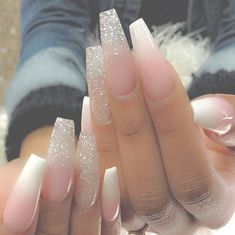 138 creative and newest acrylic nails designs for this year page 25 138 creative and newest acrylic nail designs for this year page 25 Best Acrylic Nails, Acrylic Nail Designs, Nail Art Designs, Gorgeous Nails, Pretty Nails, Hair And Nails, My Nails, Nagel Bling, Super Cute Nails