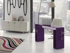 Console. Mod. IKEBANA Ikebana, Console Design, Office Desk, Corner Desk, Vanity, Mirror, Furniture, Home Decor, Consoles